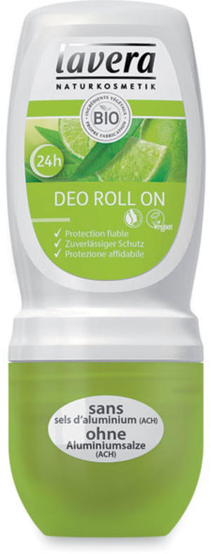 Body - deodorante roll-on verbena e limone, Lavera, 50 ml