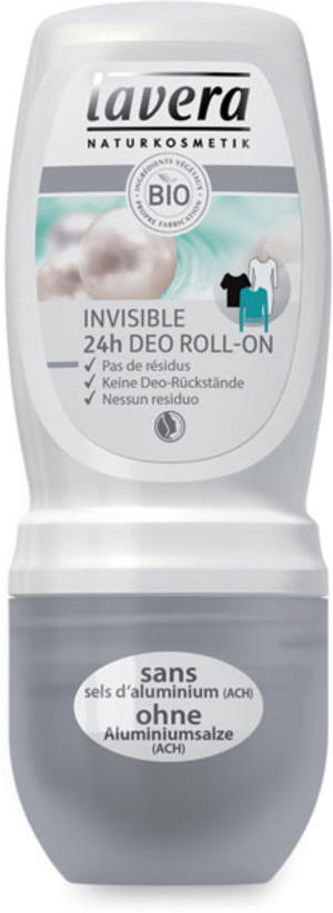 Body - deodorante roll-on invisible, Lavera, 50 ml