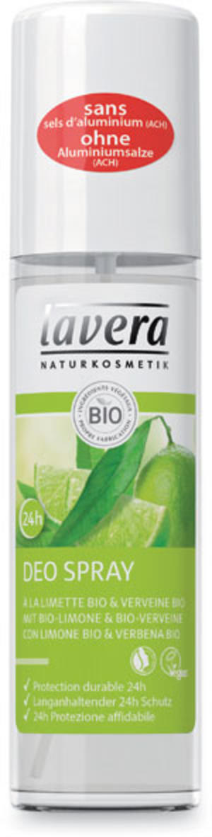 Body - deodorante spray fresh verbena e limone, Lavera, 75 ml