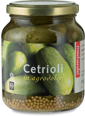 Cetrioli in agrodolce, Machandel, 350 gr