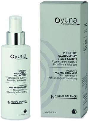 Prebiotic - acqua spray viso e corpo, Oyuna, 150 ml
