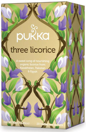 Three licorice, Pukka, 30 gr