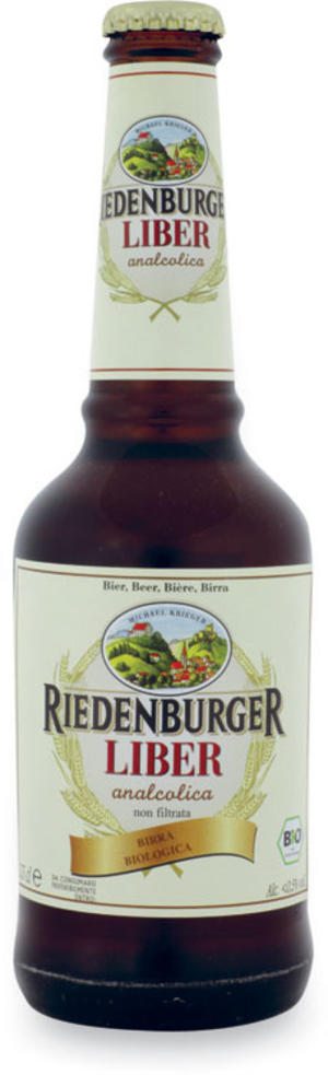Birra liber analcolica, Riedenburger, 330 ml
