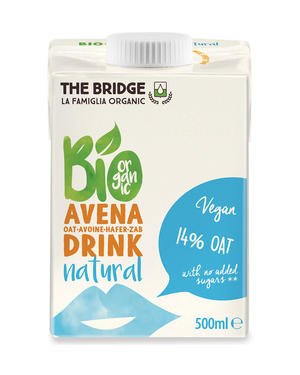 Bio avena drink, The bridge, 500 ml