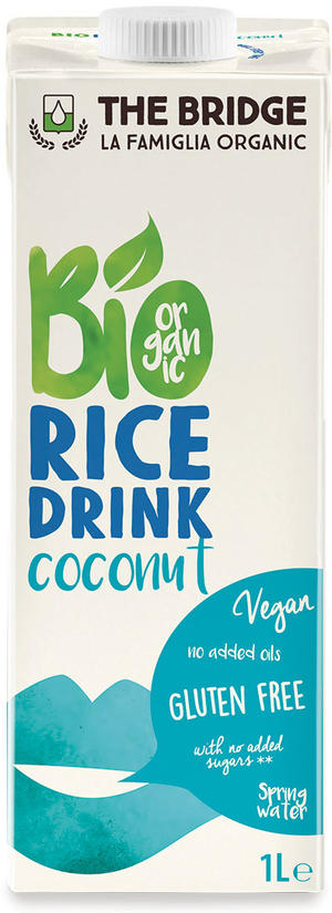 Bio rice drink cocco, The bridge, 1 L