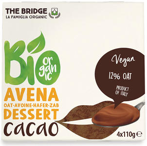 Bio avena dessert cacao, The bridge, 4x110 gr
