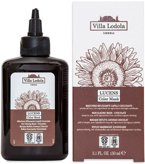 Lucens color mask - cioccolato, Villa lodola, 150 ml