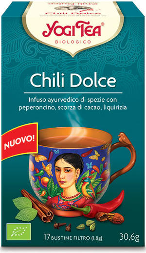 Yogi tea chili dolce, Yogi tea, 30,6 gr