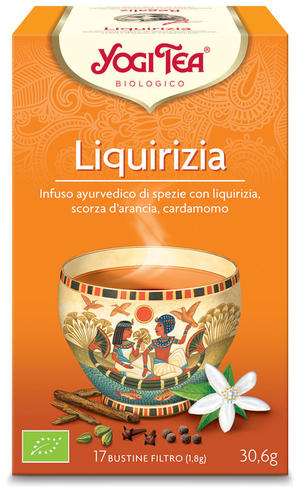 Yogi tea liquirizia, Yogi tea, 30,6 gr