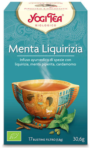 Yogi tea menta liquirizia, Yogi tea, 30,6 gr