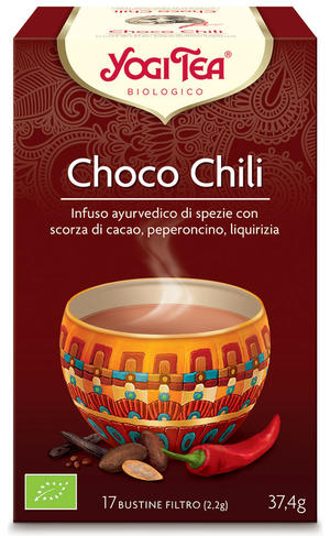 Yogi tea choco chili tè, Yogi tea, 37,4 gr