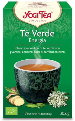Yogi tea energy green, Yogi tea, 30,6 gr