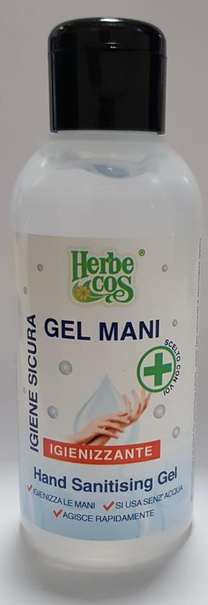 Gel Igienizzante Mani disponibile nei formati 100 - 500 ml