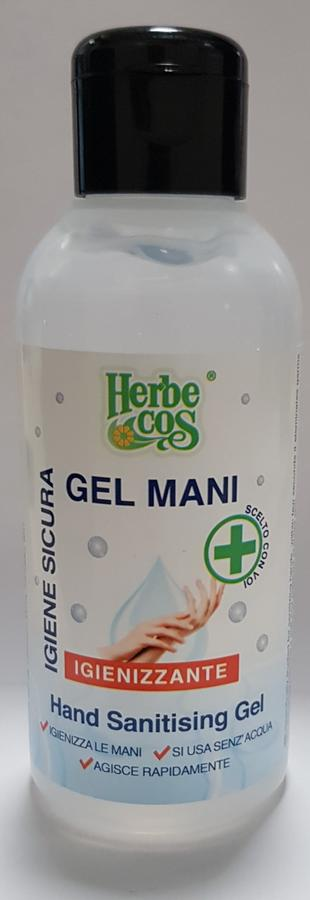Gel Igienizzante Mani disponibile nei formati 100 - 500 ml