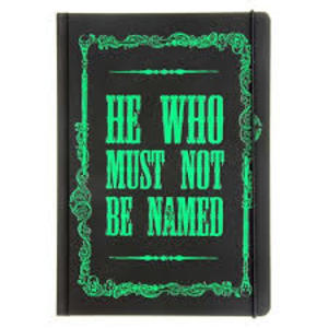 Harry Potter Notebook - He Who Must Not Be Named