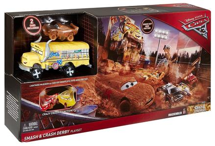 Disney Cars - Smash & Crash Derby PLAYSET - Mattel DXY95