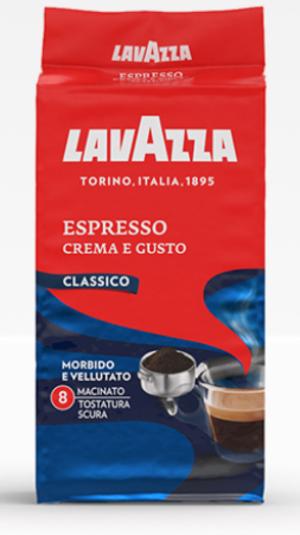 Caffé Crema e Gusto Espresso Lavazza 250 gr