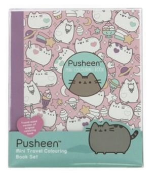 Pusheen - Mini travel colouring book set