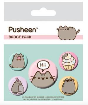 Pusheen - Badge pack