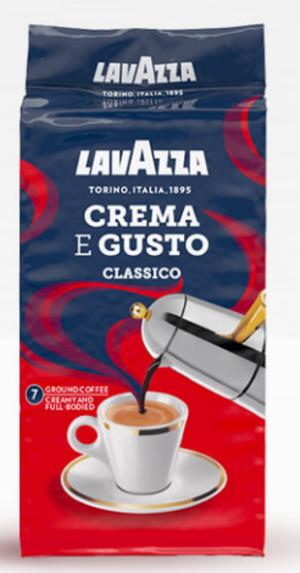 Caffé Crema e Gusto Classico Lavazza 250 gr