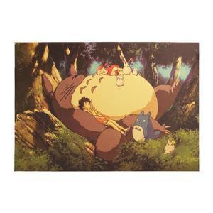 Poster Film Miyazaki: MY NEIGHBOR TOTORO, NAPTIME