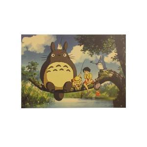 Poster Film Miyazaki: MY NEIGHBOR TOTORO, FISHING
