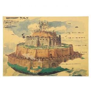 Poster Film Miyazaki: LAPUTA CASTLE IN THE SKY