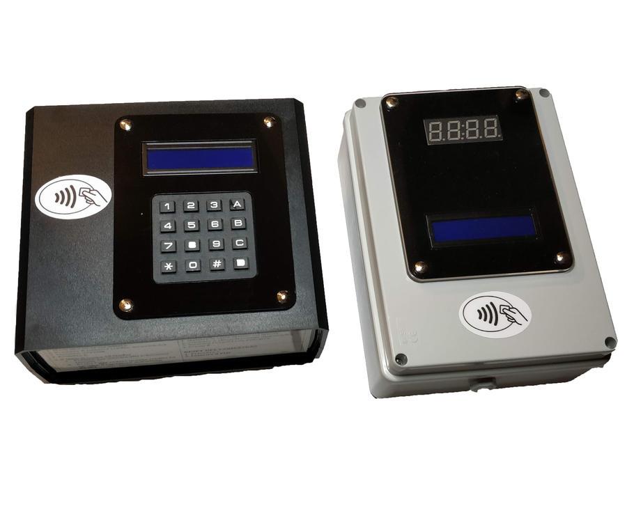 Lettore di Carte/Braccialetti per 1 doccia (12Vcc) + Programmatore