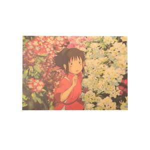 Poster Film Miyazaki: SPIRITED AWAY (LA CITTÀ INCANTATA), SEN IN THE FLOWER FIELD