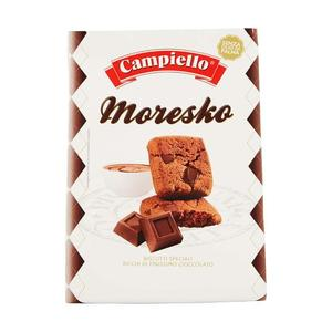 Biscotti Ricchi di Cioccolato Campiello Moresko 250 gr