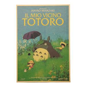 Poster Film Miyazaki: IL MIO VICINO TOTORO, Locandina Italiana