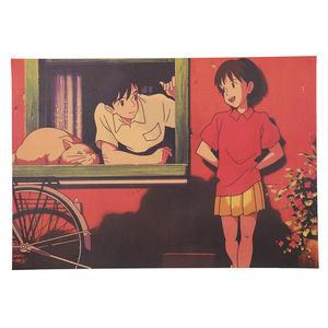 Poster Film Miyazaki: WHISPER OF THE HEART