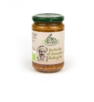 Lenticchie al Pomodoro Bio Trevisan 300 gr