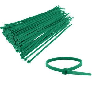 fascetta di cablaggio verde in nylon Maurer pz 100