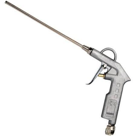 Pistola Soffiaggio in alluminio canna lunga Maurer attacco 1/4