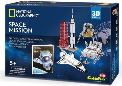 Puzzle 3D Space Mission - CubicFun DS0971H - 5+ anni