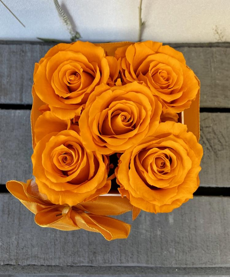 FLOWER BOX Q5 Rossana Collection ARANCIO