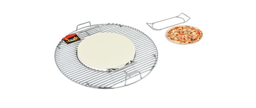 Pietra in Ceramica per Pizza + Supporto in Alluminio GMR