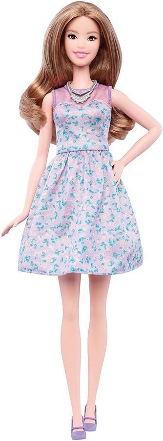 Barbie Fashionistas Petali di lavanda - Mattel DVX75 - 3+ anni
