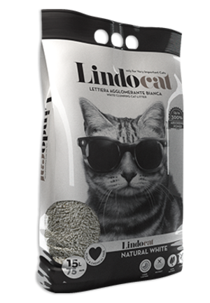 Sabbia per Gatto Natural White 15 L