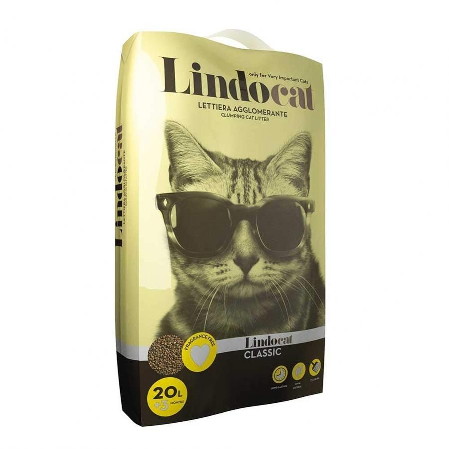 Sabbia per Gatto Classic Lindocat Disponibile nei formati 8 - 20 L