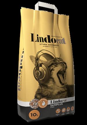 Sabbia per Gatto Saniplus Lindocat 10 L