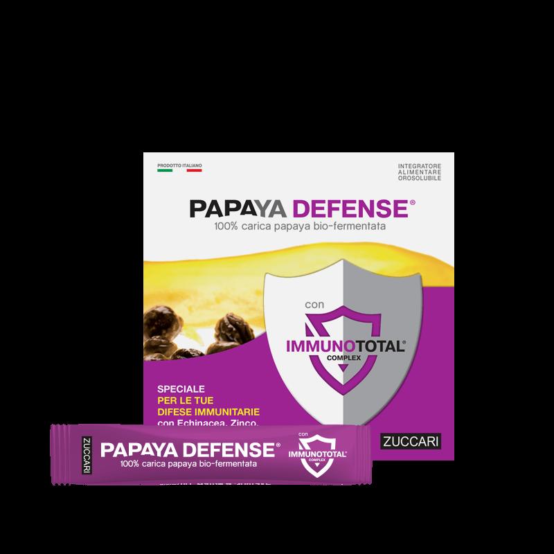 Papaya defence bio