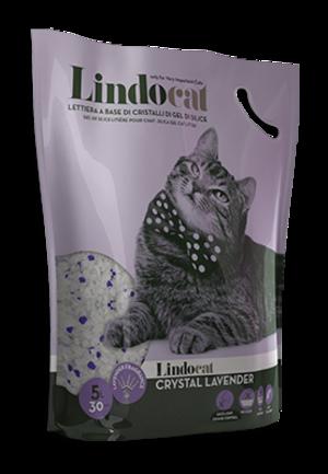 Sabbia per Gatto Crystal Lavander Lindocat  5 L