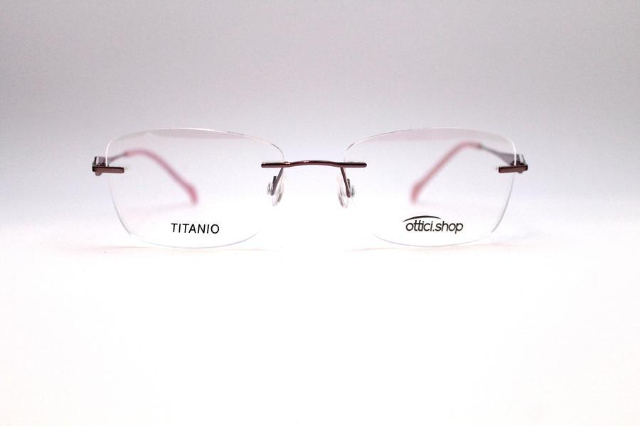 Montatura in titanio OcchialeAmico OSH 14 - Lenti da vista incluse -