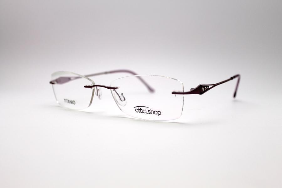 Montatura in titanio OcchialeAmico OSH 15 - Lenti da vista incluse -