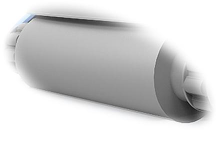 Ricambio per Mozzo ADVANCE TOP - K 200 - K 100 spazzola larga in materiale spugnoso PZ 1