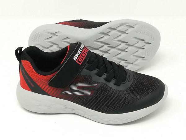 Go Run 600 Nero/Rosso - SKECHERS