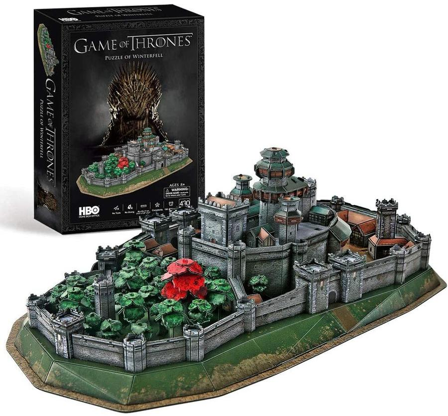 Game of Thrones (Got) Puzzle 3D Winterfell - CubicFun DS0988H - 8+ Anni