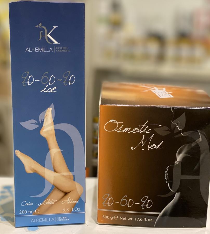 Kit gambe gonfie e cellulite OFFERTA Effetto ice